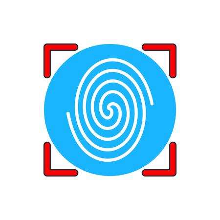 fingerprint: Fingerprint icon