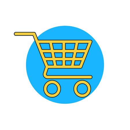 e retailers: shopping cart icon
