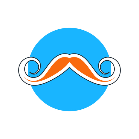 charlie: hipster mustache icon