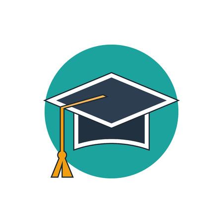 online degree: education icon