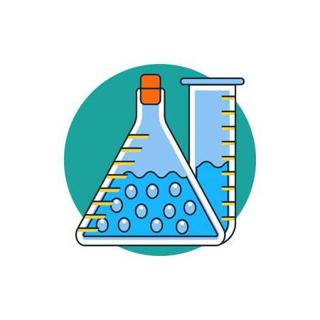 forensics: laboratory icon