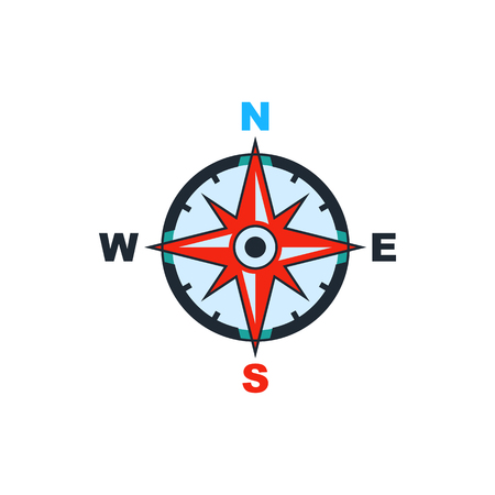 world icon: compass icon