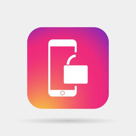 unlocked: unlocked phone icon