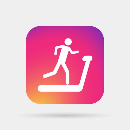 stamina: treadmill icon