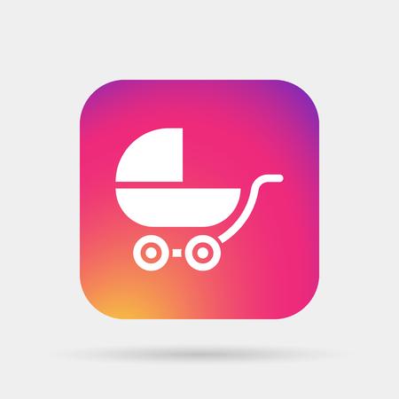 babysitting: pram icon