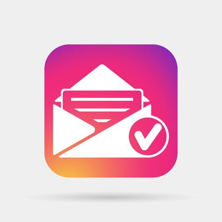 selected mail icon