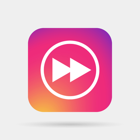 volume control: fast rewind media player icon
