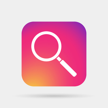 magnifier glass: Magnifier Glass, search icon