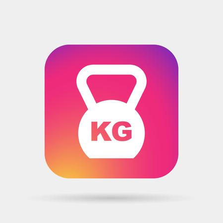Weight icon Illustration