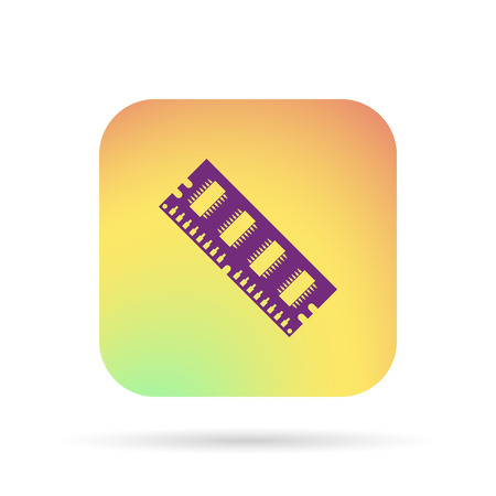 megabytes: computing memory, RAM icon