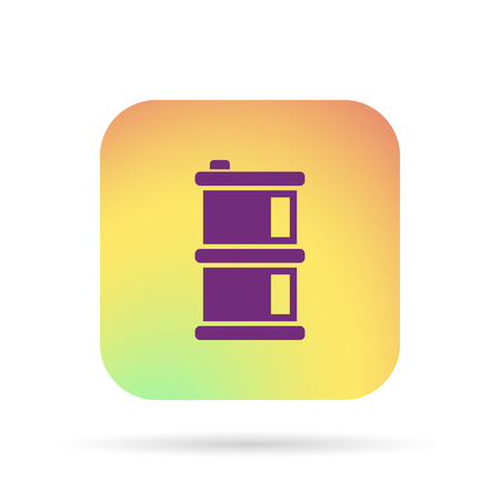 barril de petróleo: icono del barril de petróleo Vectores