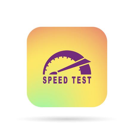 speed: speed test icon