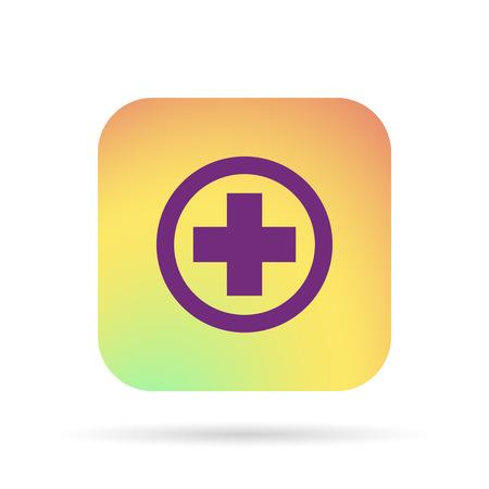 medical cross: Medical cross icon