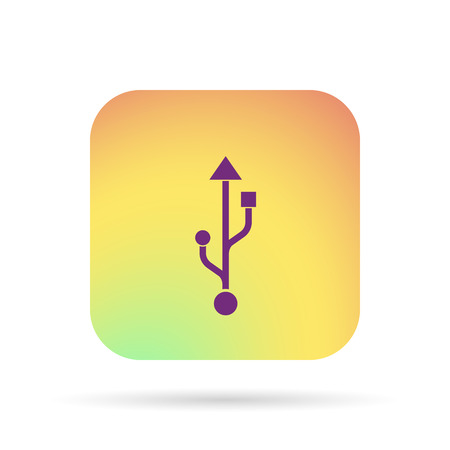 usb icon Illustration