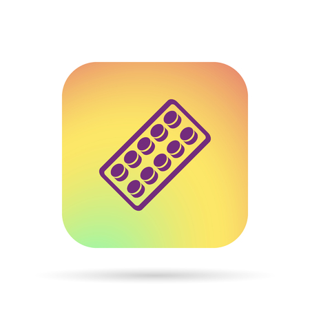 pilule: pills blister pack icon