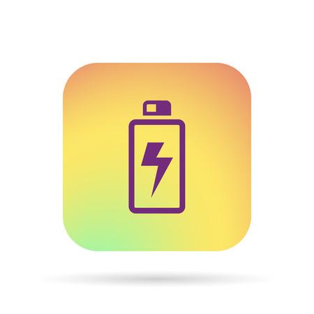 battery icon Illustration