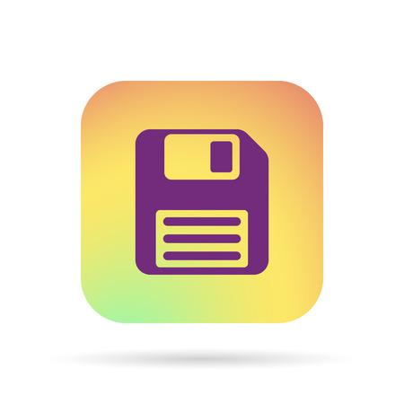 floppy disk: floppy disk icon