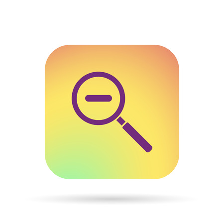 inquire: magnifying glass zoom icon
