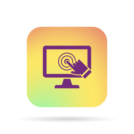 touch: pc screen touch icon