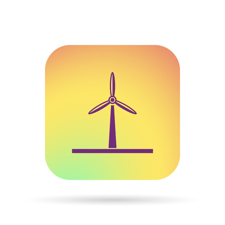 windmill icon Illustration