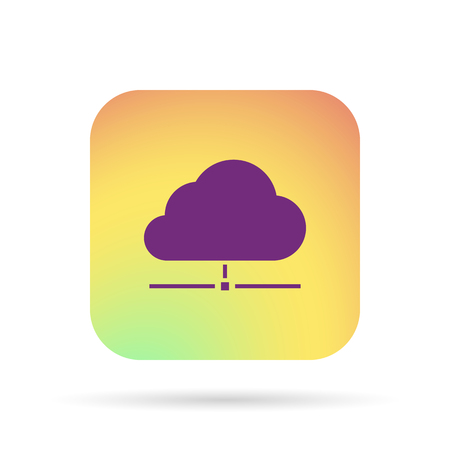 conection: cloud data icon