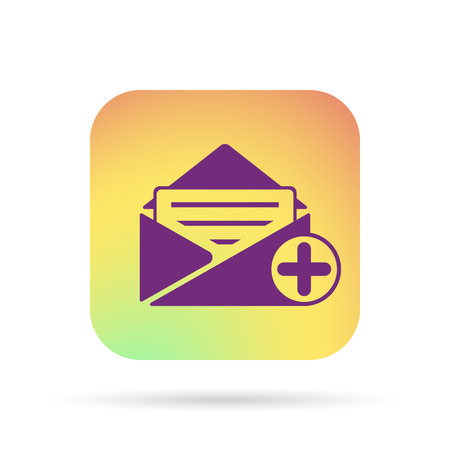 add: add mail icon