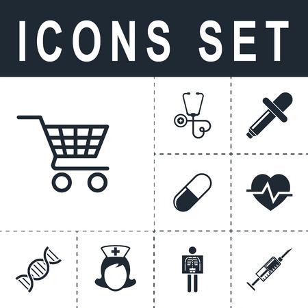 gift basket: Shopping cart icon.