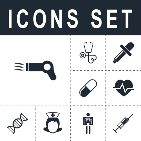 hairdryer: Hairdryer sign icon. Illustration