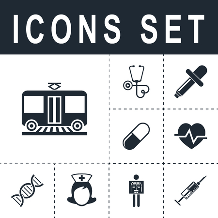 car isolated: Tram sign icon Illustration