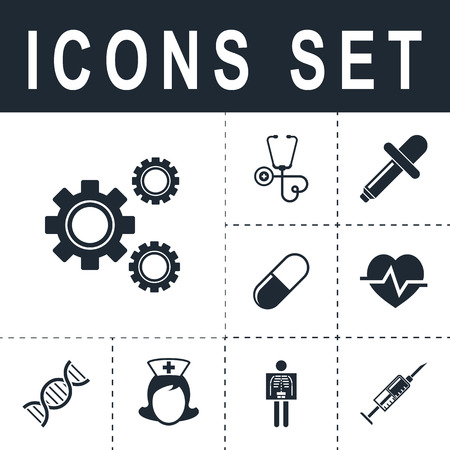 gears: settings icon Illustration