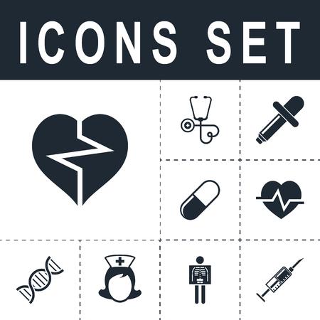 cardioid: icono cardiología del corazón Vectores