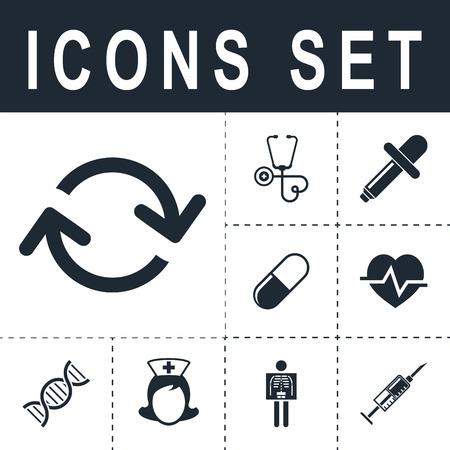 Arrows loop icon.