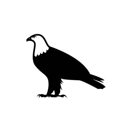 eagle icon. usa symbol