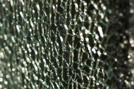 fissures: Broken glass