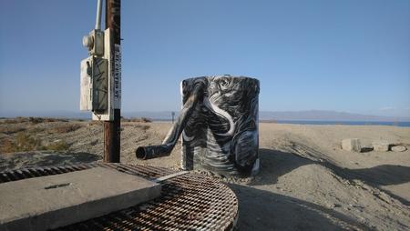Beach Art Stockfoto