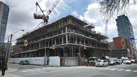 Toronto Construction Site