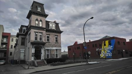Rochester Overcast Shine Stockfoto - 116652453