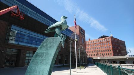Rochester Bird Statue