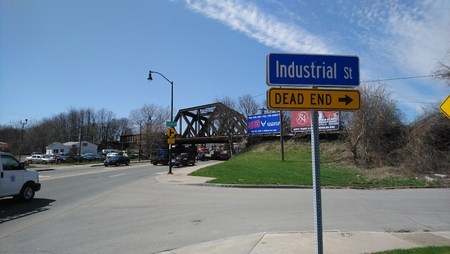 Industrial District Sign