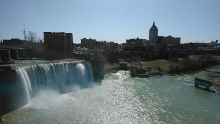 Rochester Waterfall Stockfoto