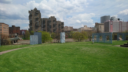 Rochester NY Park Stockfoto