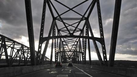 New York Bridge Stockfoto