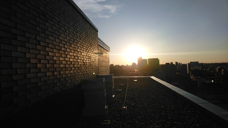 Montreal Sunset Rooftop