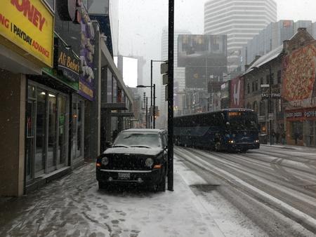 Toronto Winter Street