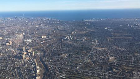 Toronto From Plane