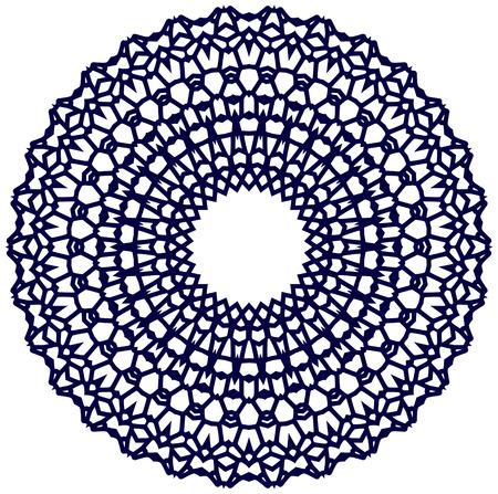Circle ornament, EPS8 - vector graphics. Ilustrace