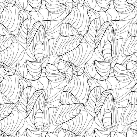 Elegant linear seamless pattern