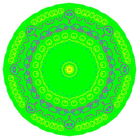 Circular pattern in the form of a mandala Reklamní fotografie - 133374187
