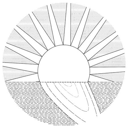 Linear solar track genre minimalism