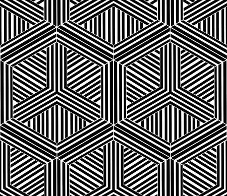 Seamless Geometric Pattern Abstract. Japanese style graphics Ilustrace